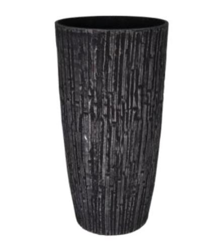 Váza Caval schwarz d36x70h