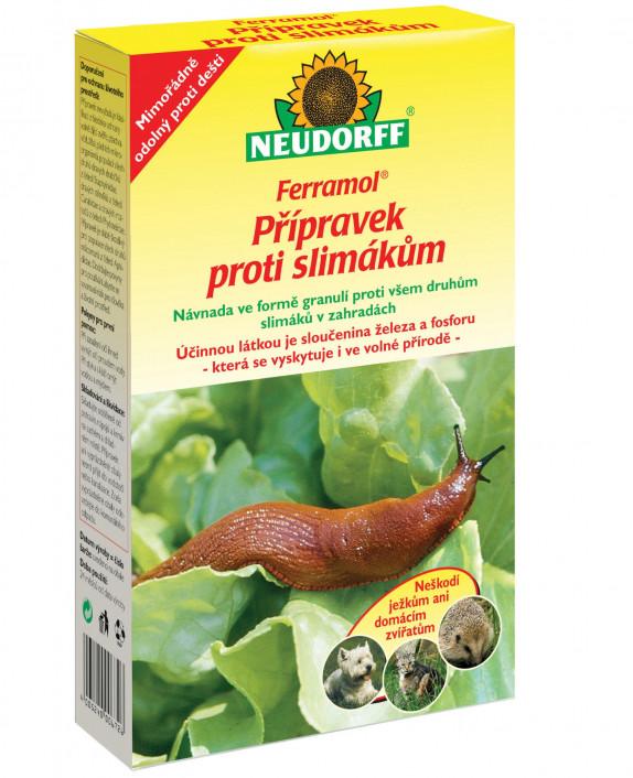 Neudorff Ferramol přípravek proti slimákům 1 kg