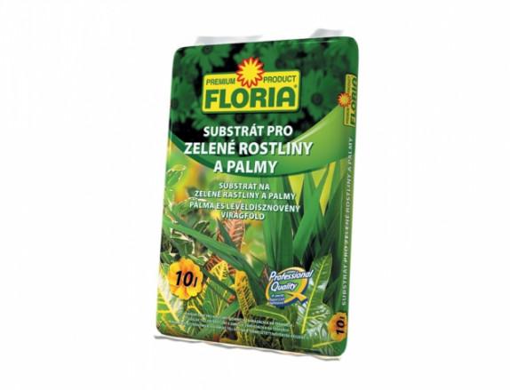 FLORIA Sub. pro zelené rostliny 10 l