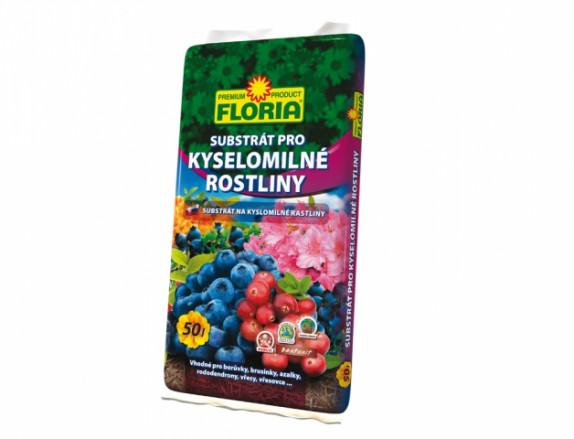 FLORIA substrát pro kyselomilné rostliny 50 l