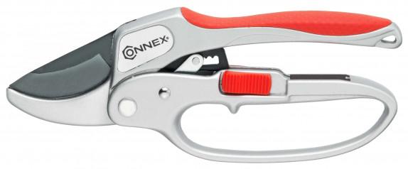 Ráčnové zahradní nůžky 205mm Alu