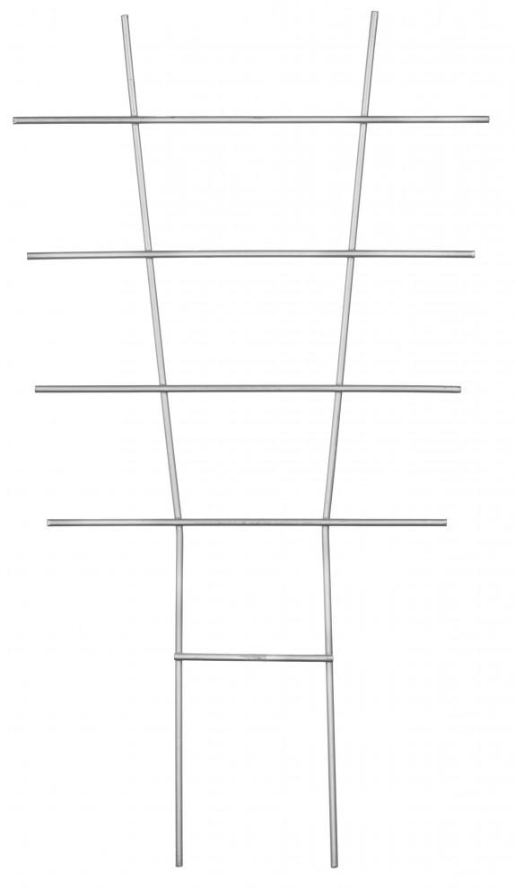Zahradnická mřížka 44x24cm, kovová