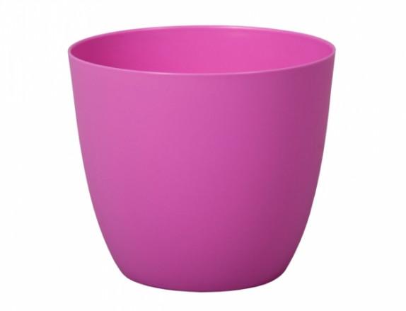 Obal na květník PATRICIE plastový fialovo růžový 13x12cm