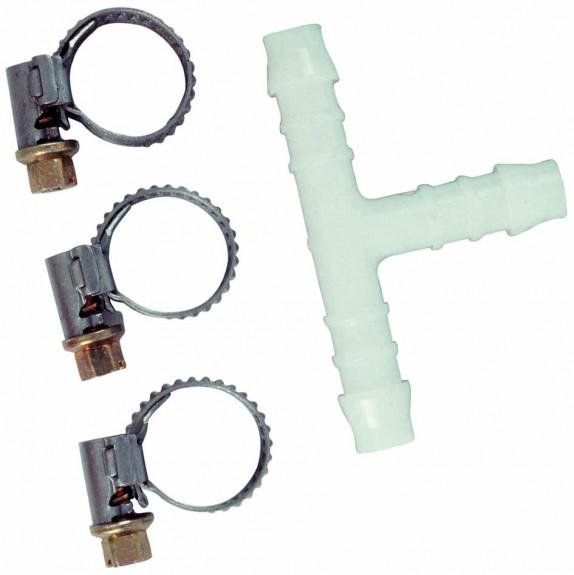 sada pro spojení hadic, T rozdvojka  8mm