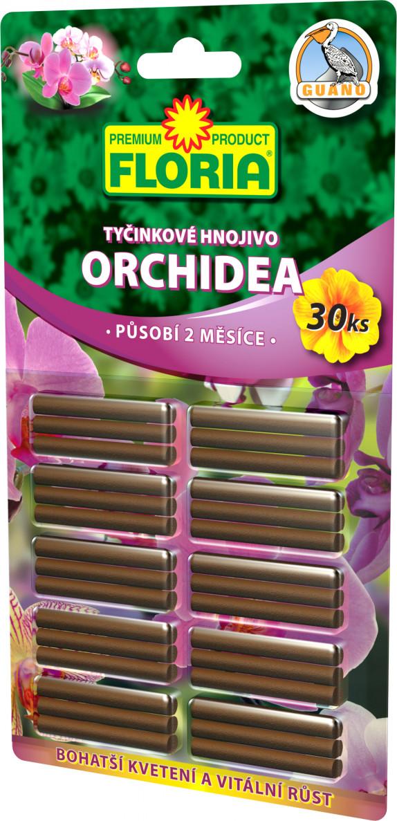 FLORIA Tyčinkové hnojivo pro orchideje 30ks