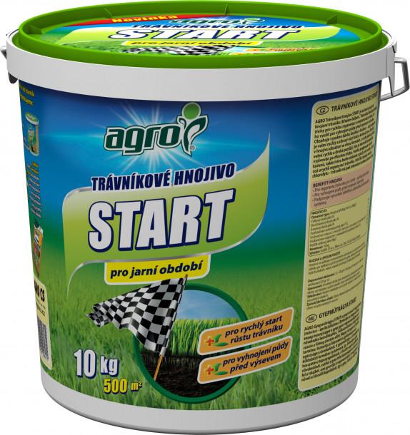 AGRO Trávníkové hn.plast kb. START 10kg