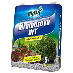 AGRO Mramorová drť 4-7 mm 5 l
