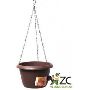 Žardina samozavlažovací Siesta závěs- čokoláda 35cm