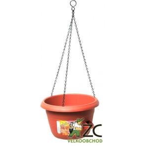 Žardina samozavlažovací Siesta závěs - terracota 25cm
