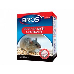 BROS zrno na myši a potkany 6x20g