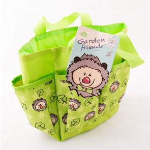 Dětská pracovní taška zelená