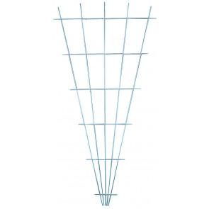 Zahradnická mřížka vějířovitá 750x1500mm bílá