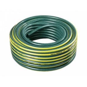 Hadice GARDENIE 25m 1/2 černá duše,tmavě zelená se žlutým pruhem GL