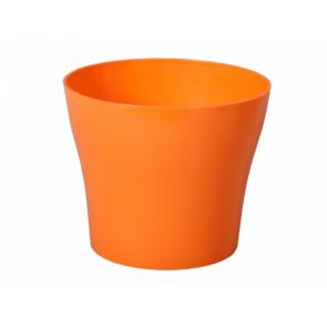 Obal TULIPAN d17cm oranžový lesklý
