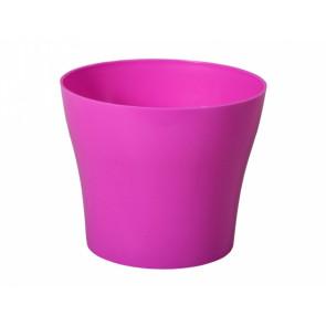 Obal TULIPAN d17cm fialovo-růžový lesklý