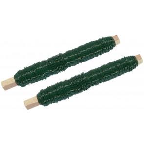 drát vázací zelený 0,65mmx100g, 2ks