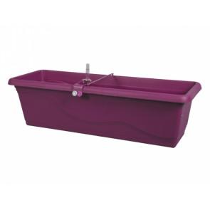 Truhlík samozavlažovací EXTRA LINE SMART 40cm fialovo-růžový