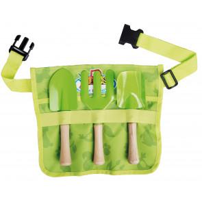 Dětská zahradní připínací zástěra(hrabičky,2lopatky) EGO