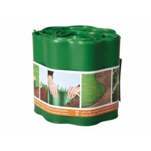 Obruba plastová 9x0.15m zelená