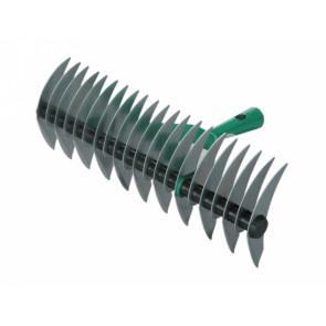 Prořezávač trávníků oboustranný 21z/38cm zelený