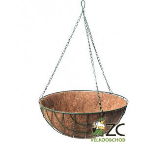 Košík kokosový závěsný 35 cm