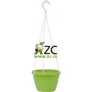 Květináč Lavaredo závěsný - 20cm zelený