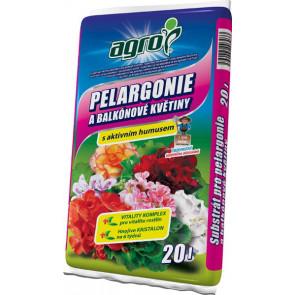 AGRO Sub. pro pelargonie 20 l