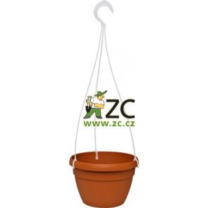 Květináč Lavaredo závěsný  - 20cm teracota