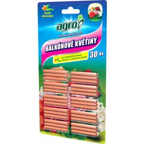 AGRO Tyčinkové hnoj.pro balkónové květiny 30 ks