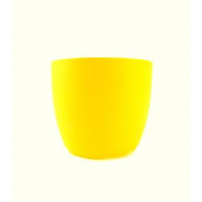 Obal na květináč Milano 13cm (žlutý)